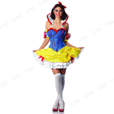 fd52fb6b521bd セクシー スノーホワイト M   コスプレ 衣装 ハロウィン 仮装 コスチューム 大人 パーティー ドレス セクシー プリンセス 白雪姫