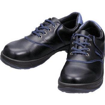 安全靴 保護具 安全衛生 安全管理 保安用品 【取寄品】 シモン 安全靴 短靴 SL11-BL黒/ブルー 28.0cm 【 安全衛生 保護具 安全管理 保安用品 】
