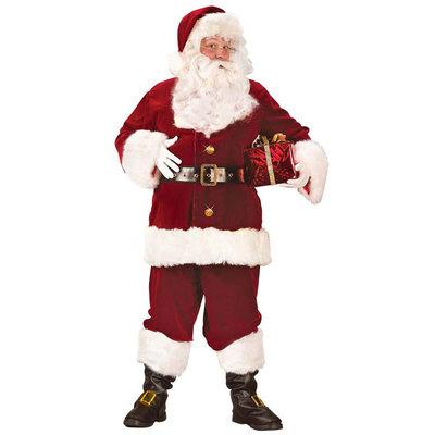 【送料無料】 サンタ コスプレ スーパーDXサンタスーツ Std 【 コスプレ 衣装 仮装 大人 メンズ 服 クリスマス コスチューム サンタクロース 大人用 サンタコス 男性用 サンタ服 】