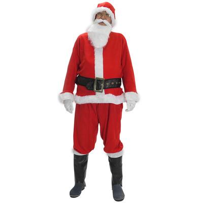 【あす楽12時まで】 サンタ コスプレ プロモーショナルサンタスーツ XL 【 コスプレ 衣装 仮装 大人 メンズ 服 クリスマス コスチューム 大きいサイズ サンタクロース サンタ服 ビッグ 大人用 サンタコス 男性用 】