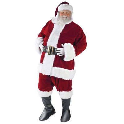 【送料無料】 サンタ コスプレ ウルトラベルベットサンタスーツ XL 【 コスプレ 衣装 仮装 大人 メンズ 服 ベル コスチューム クリスマス 大きいサイズ サンタクロース ビッグ サンタコス サンタ服 男性用 大人用 】