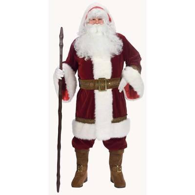 【送料無料】 サンタ コスプレ オールドタイム・フードサンタ XL 【 コスプレ 衣装 仮装 大人 メンズ 服 クリスマス コスチューム 大きいサイズ サンタクロース 大人用 サンタコス ビッグ 男性用 サンタ服 】