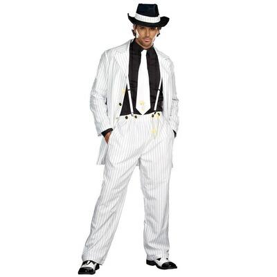 【送料無料】 ズートスーツ XL 【 仮装 衣装 コスプレ ハロウィン コスチューム 大人 メンズ 大きいサイズ ギャング 男性用 パーティーグッズ 大人用 】