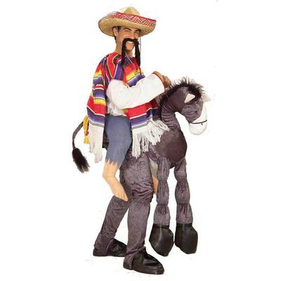 【あす楽12時まで】 【送料無料】 メキシカン ロバ乗りコスチューム 【 仮装 衣装 コスプレ ハロウィン 余興 大人用 メンズ パーティーグッズ おもしろ 着ぐるみ 爆笑 面白い おもしろコスチューム きぐるみ おもしろい ウケる 宴会グッズ 笑える ネタ 男性用 】