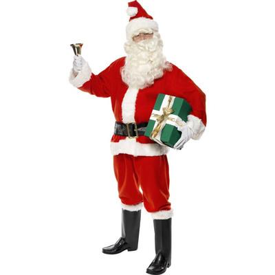 【送料無料】 サンタ コスプレ DXサンタ 大人用 L 【 仮装 衣装 コスプレ 服 メンズ クリスマス サンタクロース 男性用 サンタ服 サンタコス コスチューム 】