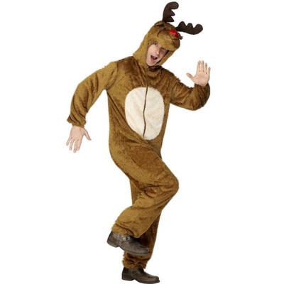 【送料無料】 トナカイ コスプレ トナカイコスチューム 大人用 L 【 コスプレ 衣装 ウケる 面白 メンズ 仮装 男性用 笑える クリスマス 爆笑 おもしろコスチューム 】