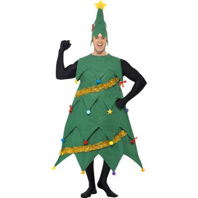 【送料無料】 クリスマスツリーコスチューム 【 コスプレ 衣装 男性用 レディース 笑える ウケる 面白 メンズ 大人用 爆笑 女性用 おもしろコスチューム 仮装 】