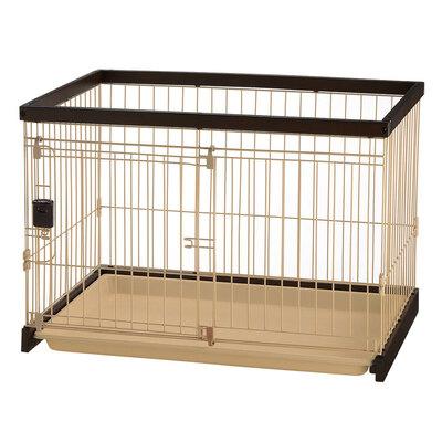 【送料無料】 【取寄品】 木製お掃除簡単サークル 90-60 ダークブラウン 【 ペット用品 犬用品 小さい いぬ 小型犬用 ペットグッズ イヌ 】