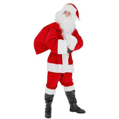【送料無料】 サンタ コスプレ Patymo XM パーフェクトサンタ 【 コスプレ 衣装 仮装 大人 メンズ 服 クリスマス コスチューム サンタクロース サンタ服 男性用 サンタ衣装 大人用 サンタコス 】