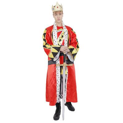 【あす楽12時まで】 !! CLUB KING King(キング) 【 コスプレ 衣装 ハロウィン 仮装 余興 大人用 メンズ 王様 コスチューム 男性用 パーティーグッズ 】