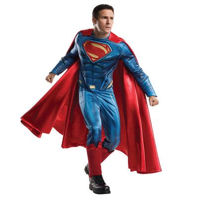 【送料無料】 !! DXコスチューム スーパーマン STD 【 コスプレ 衣装 ハロウィン 仮装 余興 大人用 メンズ アメコミ コスチューム スーパーマン 男性用 DCコミック 公式 パーティーグッズ 正規ライセンス品 映画キャラクター 】
