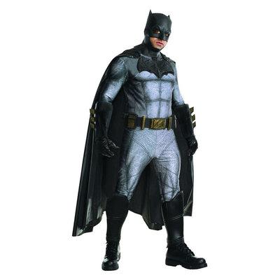 【送料無料】 !! DXコスチューム バットマン XL 【 コスプレ 衣装 ハロウィン 仮装 余興 大人用 メンズ アメコミ コスチューム 大きいサイズ バットマン パーティーグッズ 男性用 DCコミック 公式 映画キャラクター 正規ライセンス品 】