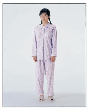 介護用品 卓越 衣類 福祉用品 取寄品 制菌 機能付き 介護パジャマ 2020新作 婦人 パジャマセット LL ファスナーズボン付