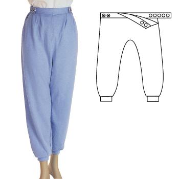 公式ショップ 衣類 福祉用品 介護用品 新品 送料無料 取寄品 フドーズボン Lサイズ グレーLサイズ