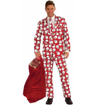 【あす楽12時まで】 サンタスーツ 大人用 XL 【 仮装 衣装 コスプレ クリスマス サンタ コスチューム 男性用 メンズ 】