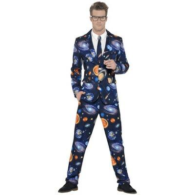 【送料無料】 !! スペーススーツ 大人用 XL 【 コスプレ 衣装 ハロウィン 仮装 余興 大人用 メンズ エイリアン 宇宙人 コスチューム 男性用 パーティーグッズ 】