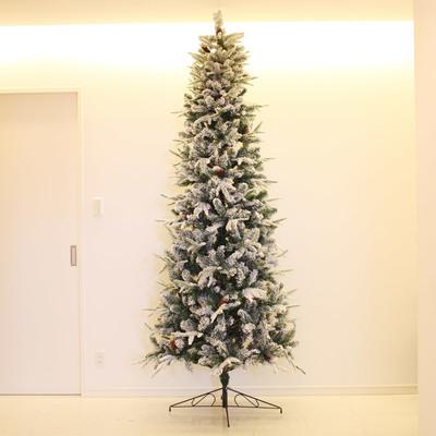 【送料無料】 ! クリスマスツリー スノーツリー クリスマスツリー 270cm 【 クリスマス 飾り 雪 ホワイト ヌードツリー 大型 装飾 白 ホワイトツリー 大きい 】