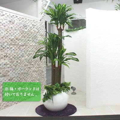 【送料無料】 Funderful 光触媒 人工観葉植物 ドラセナフレグランス 150cm 【 光触媒 フェイクグリーン 消臭 抗菌 幸福の木 インテリアグリーン 】