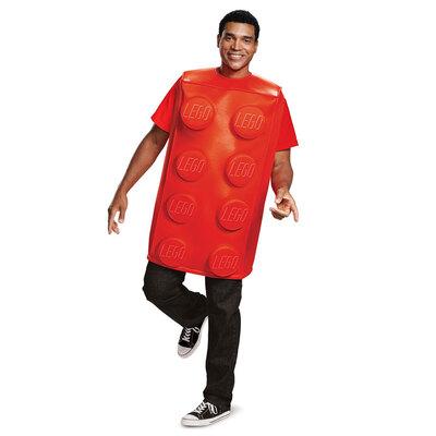【送料無料】 LEGO レゴブロックコスチューム 赤 大人用 M/L 【 衣装 コスプレ ハロウィン 仮装 大人 パーティーグッズ おもしろ ネタ 笑える 面白い 男性用 おもしろコスチューム 女性用 ウケる おもしろい レディース きぐるみ メンズ 面白コスチューム 爆笑 】