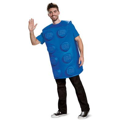 【送料無料】 LEGO レゴブロックコスチューム 青 大人用 M/L 【 衣装 コスプレ ハロウィン 仮装 大人 パーティーグッズ おもしろ ネタ 面白い レディース 面白コスチューム 男性用 おもしろい 女性用 おもしろコスチューム おもしろ着ぐるみ 笑える メンズ ウケる 】