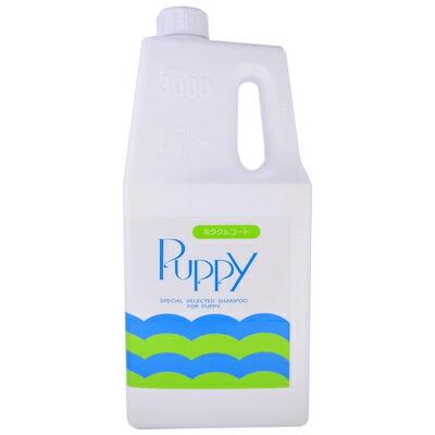 【送料無料】 【取寄品】 ミラクル パピーシャンプー 3L 【 トリミング ペット用品 お手入れ用品 犬用品 いぬ ペットグッズ グルーミング イヌ 】