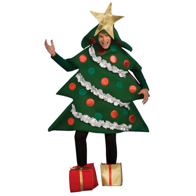 【送料無料】 クリスマスツリーコスチューム L 【 衣装 コスプレ おもしろコスチューム 仮装 面白 メンズ 女性用 男性用 笑える レディース 大人用 爆笑 ウケる 】