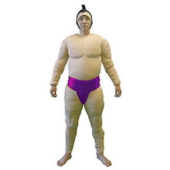 【送料無料】 【取寄品】 相撲セット 相撲スーツ3点セット 藤 【 パーティーグッズ 仮装 すもう 力士 コスプレ 余興 コスチューム まわし メンズ お相撲さん 衣装 ハロウィン 関取 男性用 大人用 】
