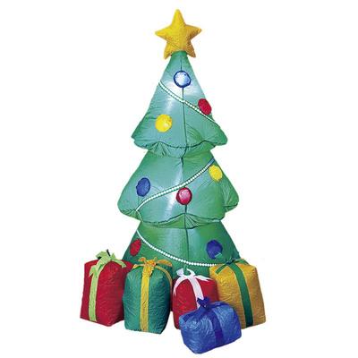【送料無料】 【取寄品】 150cm インフレータブルツリー 【 雑貨 店舗 入り口 装飾 オブジェ パーティーグッズ エアーブロー デコレーション 置物 店先 クリスマスパーティー クリスマス飾り エアブロー 】