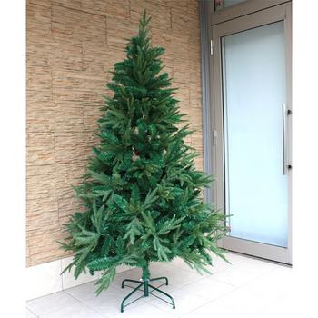 【送料無料】 ! クリスマスツリー Funderful 240cmクリスマスツリー(ミックスリーフ/ヌード) 【 装飾 大型 グリーンヌードツリー 飾りなし 大きい 】