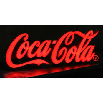 【取寄品】 コカ・コーラ ブランド LEDレタリングサイン LED Lettering Sign 【 コカコーラ 飾り POP ディスプレイ 店舗装飾品 ネオンサイン 販促品 デコレーション 壁掛け照明 】