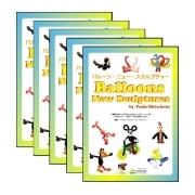 【お得バルーンパック】バルーンニュースカルプチャー ブック 5冊【5冊1パック】ISB61050【メール便OK】