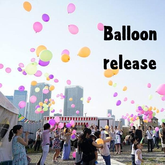バルーンリリースセット40人分【set72】 結婚式 ウエディングパーティー