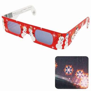 お祭りや縁日に使えるイベント用品 あす楽12時 春の新作 ホロスペックメガネ 雪の結晶1個 花火 迅速な対応で商品をお届け致します SPGHB02000