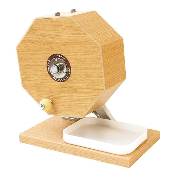 木製ガラポン抽選器300球用 1台【IXAEV62945】