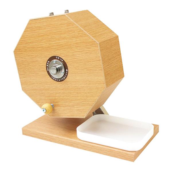 木製ガラポン抽選器500球用 1台【IXAEV62946】
