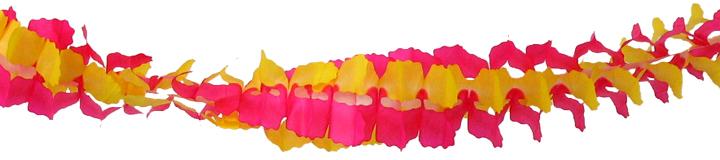 お誕生日 結婚祝い 結婚式 二次会 店舗装飾 飾りつけ 女子会 ファーストバースデー ウェディング 春のかざり 桃色 本店 黄色 デコレーション 飾り付け 300cm 日本製 紙製 パーティーグッズ ピンク ガーランド 4点までネコポスOK イエロー