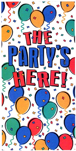 パーティー装飾 ドアデコ バルーンパーティー ビニール製 パーティーグッズ セール品 あす楽 ブランド買うならブランドオフ