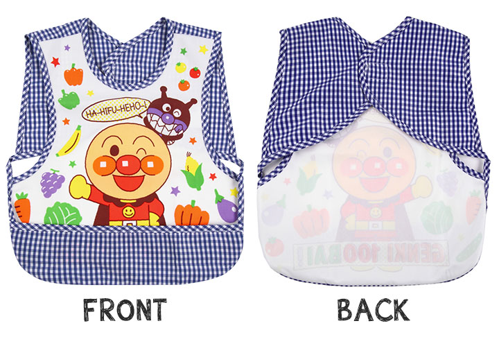 8bc2f5aaa Anpan-Man meal apron (water repellency Stai spilt food pocket meal Stai  apron fashion pretty child nursery school water-repellent lunch apron baby  food ...