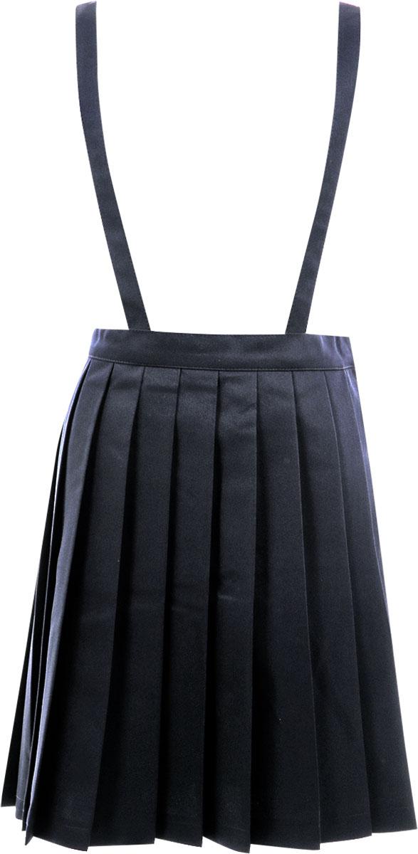 f871c9ea06 ... Just examination for child school uniform pleated skirt dark blue  uniform 120cm 130cm 140cm 150cm 160cm