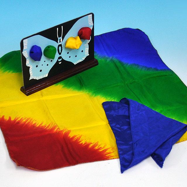 ◆マジック・手品◆シルクと蝶◆K5355
