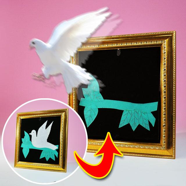 ◆決算セール◆マジック・手品◆額縁から鳩◆W2503