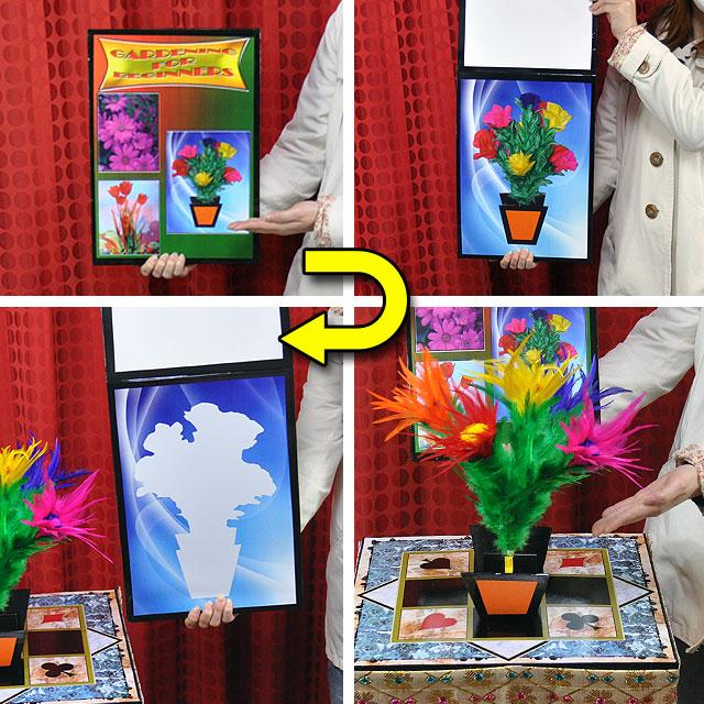◆マジック・手品◆初心者の園芸◆F5851