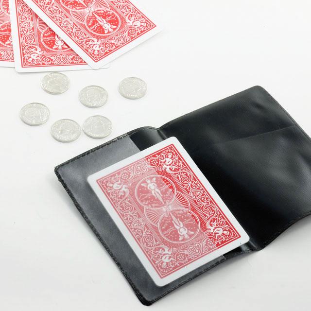 これで貴方は一流のマジシャン マジック 手品 バイスクル チョップカード C5105 ミニチュアコイン付 大放出セール 直営店