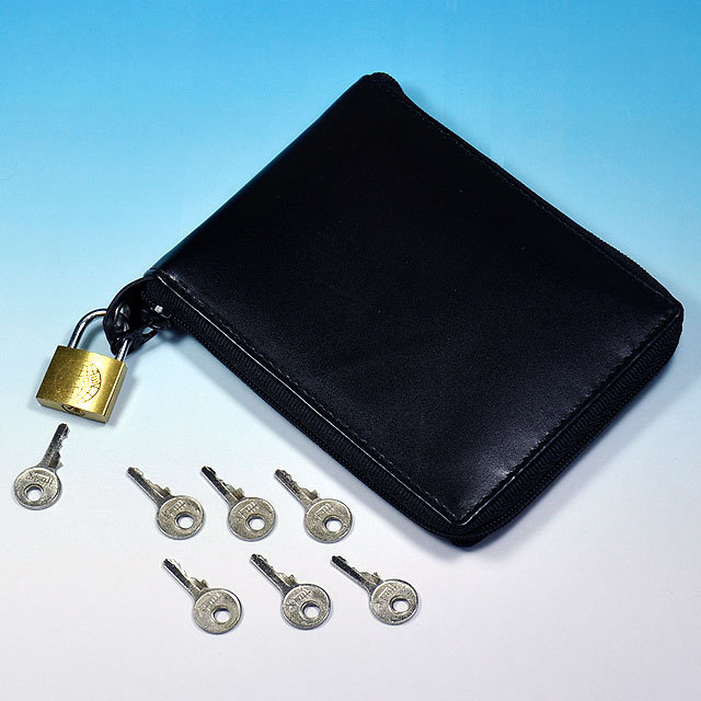 ◆マジック・手品◆ジップロック ワレット◆L5221