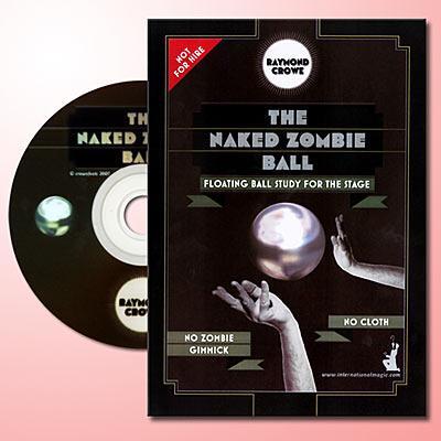 ●手品・マジック関連●ネイキッド・ゾンビボール DVD●FB-32D