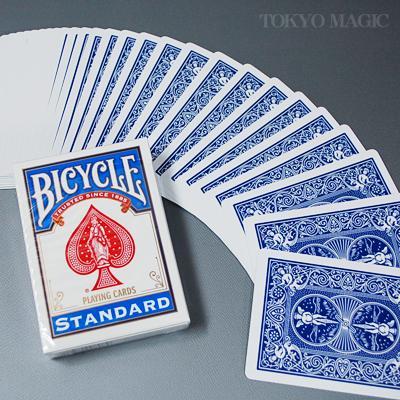 ベストカード 人気のバイスクル レギュラーカード 正規品スーパーSALE×店内全品キャンペーン 手品 マジック関連 スタンダード メーカー公式ショップ バイシクル ブルー P-21A8
