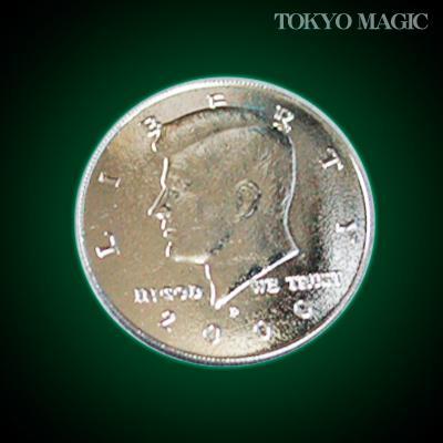 ●手品・マジック関連●パーミングコイン:ハーフダラー・サイズ●P-23H