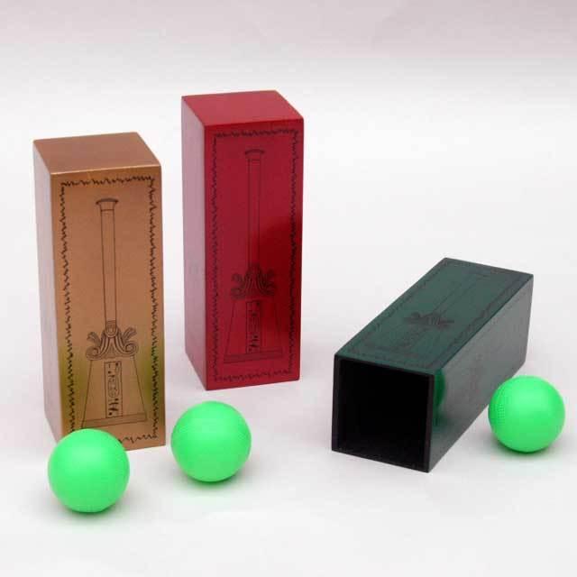 ●マジック関連●木製チューブと謎のボール●W5381
