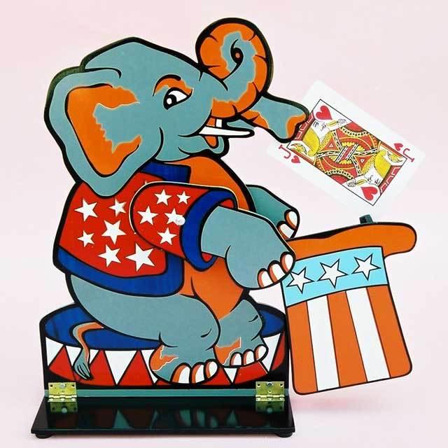 ●マジック関連●象さんのカード当て●W5416