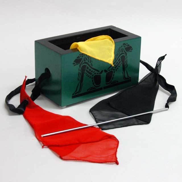●マジック関連●木製ボックスとスカーフ●W5419